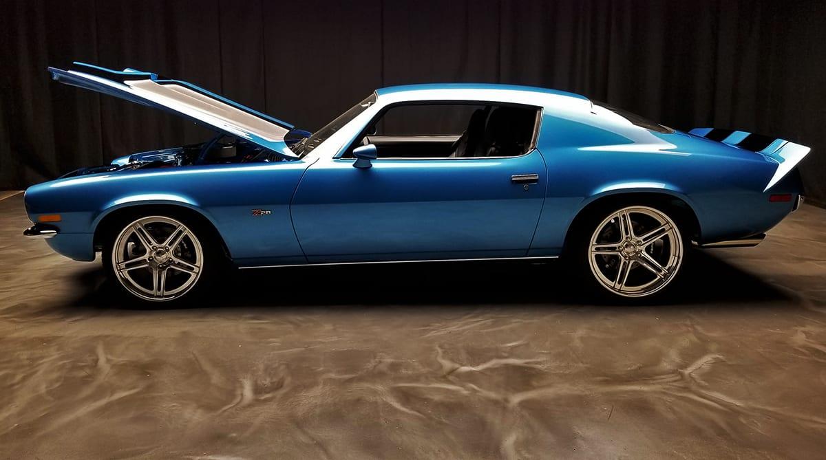 Boze Shine Blue 70 Camaro Torque 1