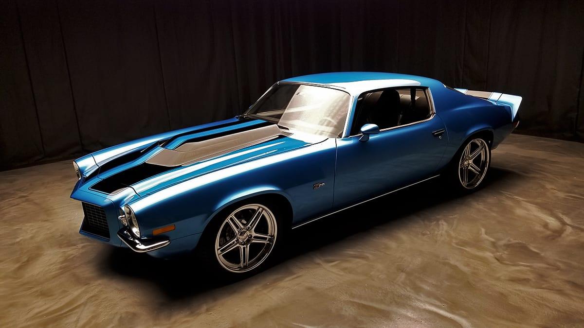 Boze Shine blue 70 Camaro Torque 2