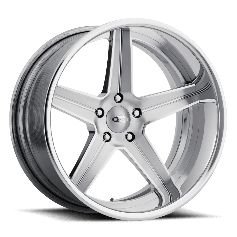 Boze V Rod Victory Wheels Series Silver Gray